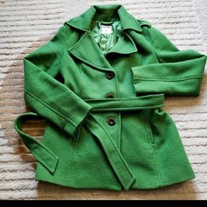 Gorgeous Green Belted Jacket
